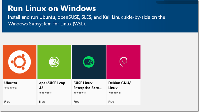 Linux on Windows 10 (WSL) - Eli Shlomo | Blog | Eli Shlomo | Blog